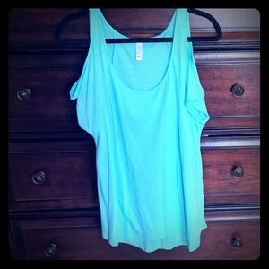 Victoria's Secret cold shoulder tunic top